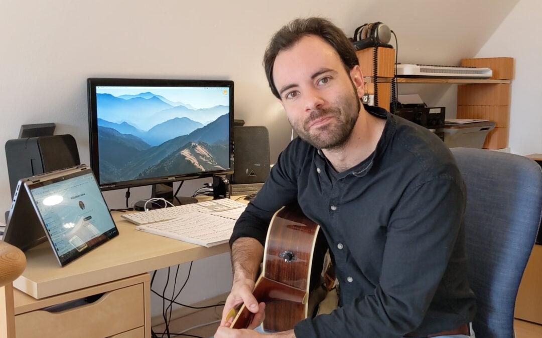 Online funktioniert! – Gitarre mit Josh