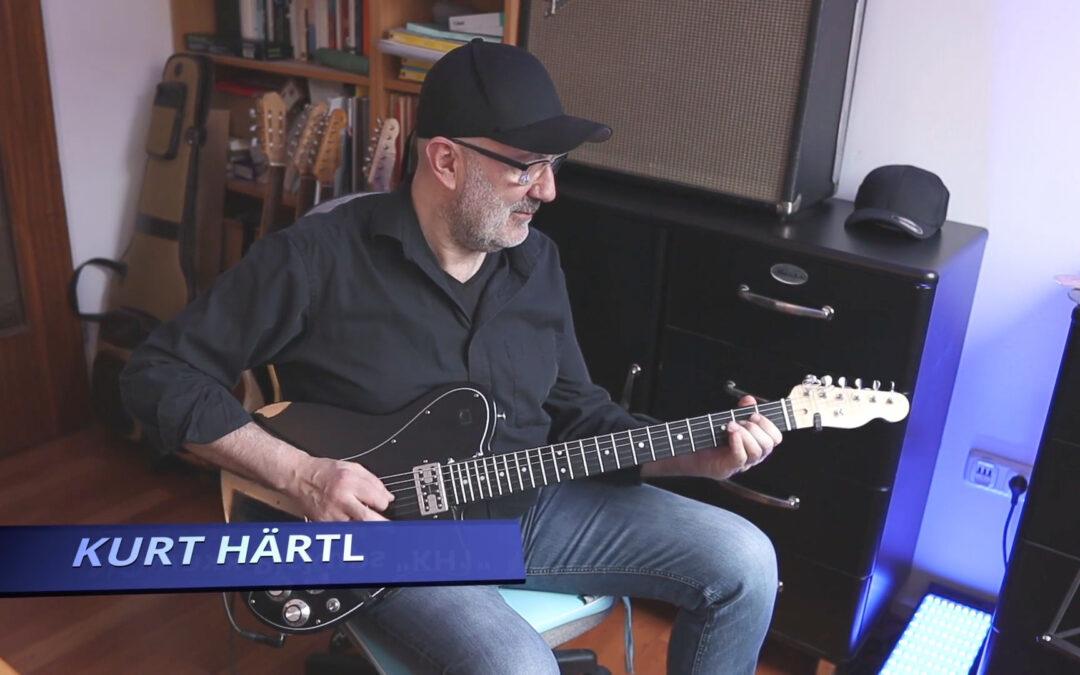 Online funktioniert! – Gitarre mit Kurt