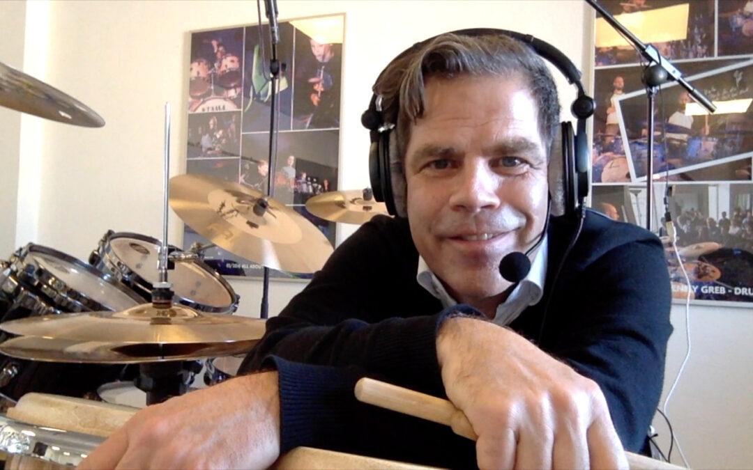 Online funktioniert! – Schlagzeug mit Markus