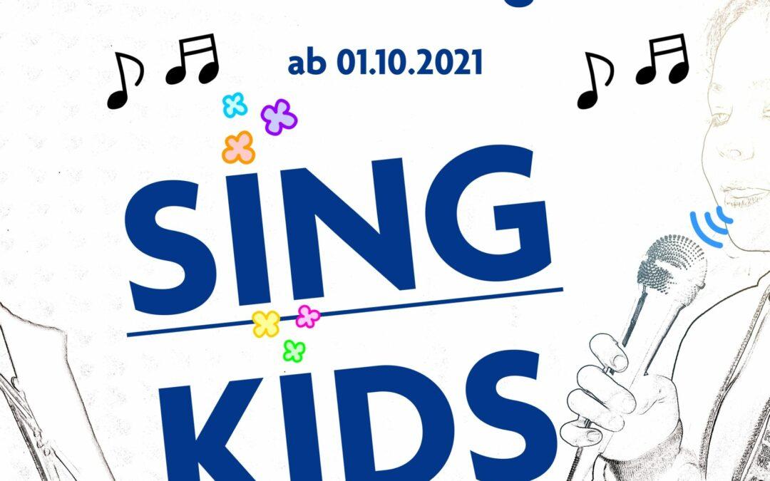 SINGKIDS – unser neues Kursangebot